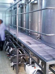 Lagerung und Bereitstellung der Rohstoffe von RONO